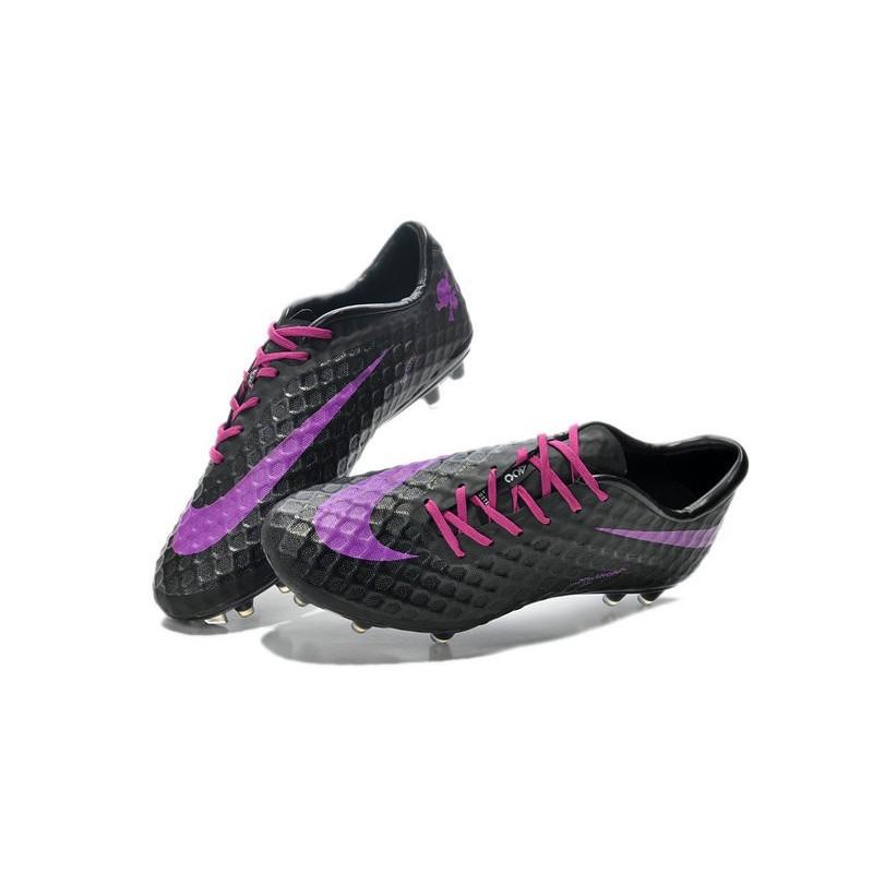 Cheap 2014 Nike Hypervenom Phantom Fg Acc Black Purple