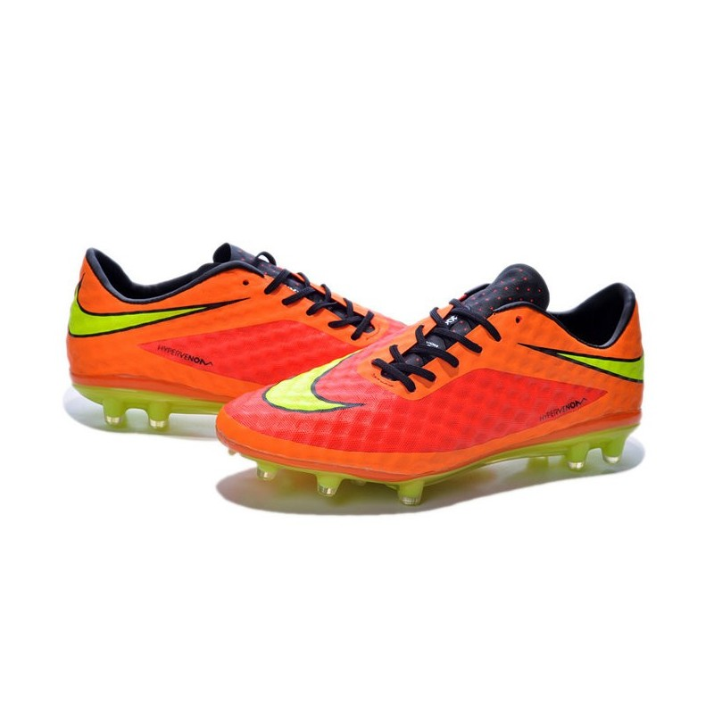 nike soccer cleat brazil 2014 world cup orange volt