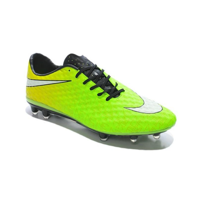 nike soccer cleat new 2014 hypervenom phantom fg acc green