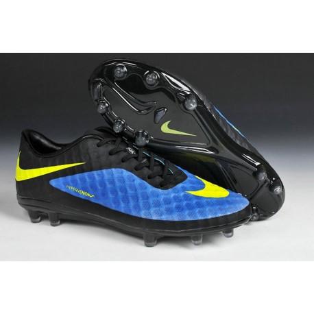 New Neymar World Cup 2014 Nike HyperVenom Phantom FG ACC Hyper Blue Black Volt