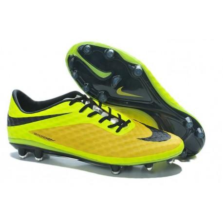 New Neymar World Cup 2014 Nike HyperVenom Phantom FG ACC Vibrant Yellow Black Silver