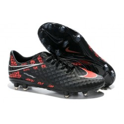 New Neymar World Cup 2014 Nike HyperVenom Phantom FG ACC Reflective Black Red