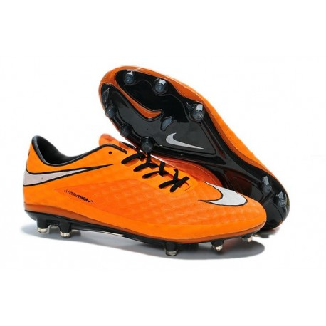 Discount 2014 New FIFA Orange White Nike HyperVenom Phantom FG ACC Boot