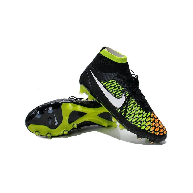 nike new 2014 soccer cleats black volt hyper punch magista