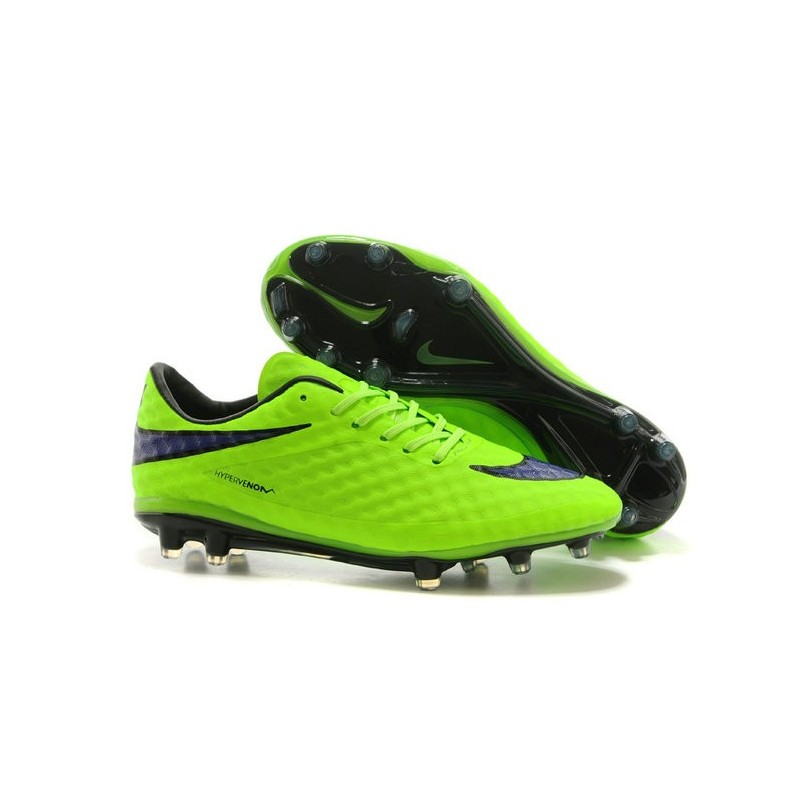 entrega Multa Drama  Nike HyperVenom Phantom FG Premium ACC Neymar Cleats Green Purple