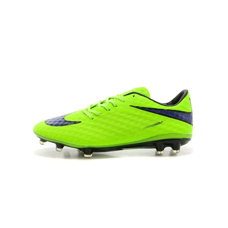Blue And Purple Nike Soccer Shoes