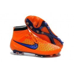 Nike Discount Soccer Cleats Magista Obra FG ACC Orange Purple