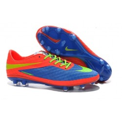 Nike HyperVenom Phantom FG Premium ACC Neymar Cleats Purple Volt Crimson