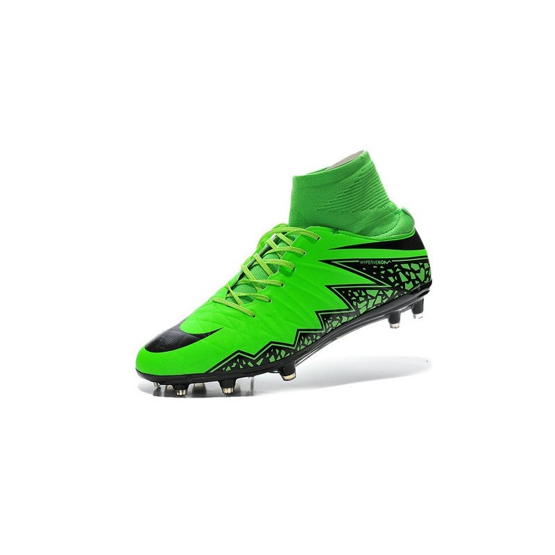 new nike collection hypervenom phantom 2 fg neymar green black football boots. Black Bedroom Furniture Sets. Home Design Ideas