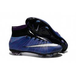 New Nike Mercurial Superfly Iv FG ACC Firm Ground Soccer Cleats Purple White Black