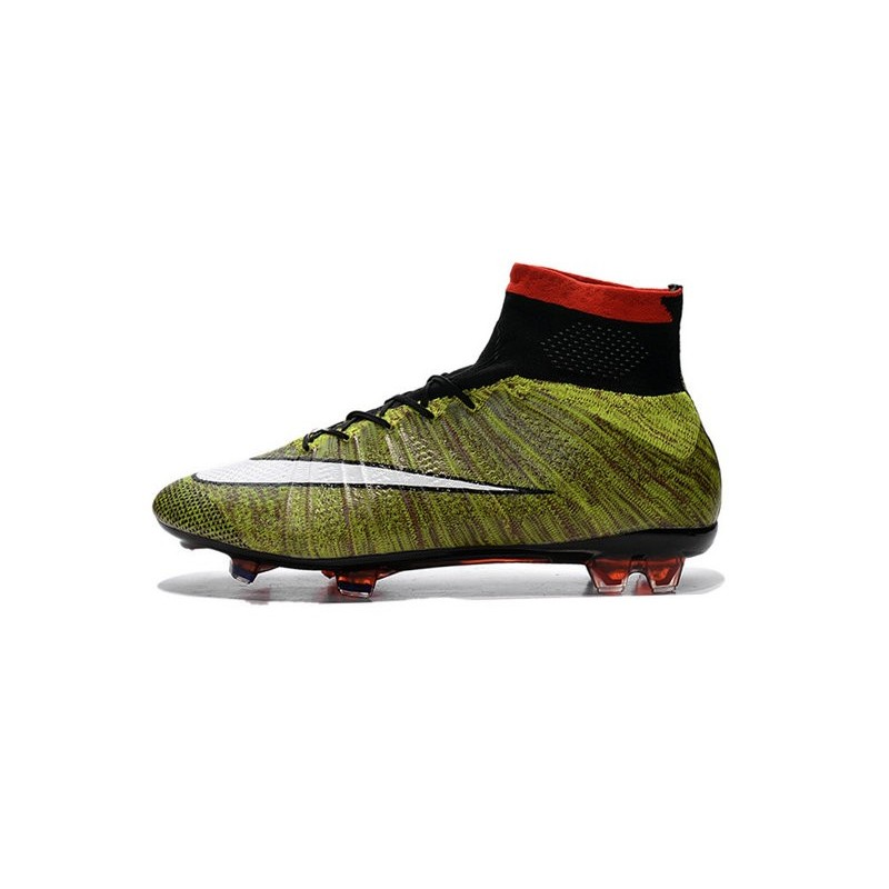 5418a5f4b New Nike Mercurial Superfly Iv FG ACC Firm Ground Soccer Cleats Yellow  White Black