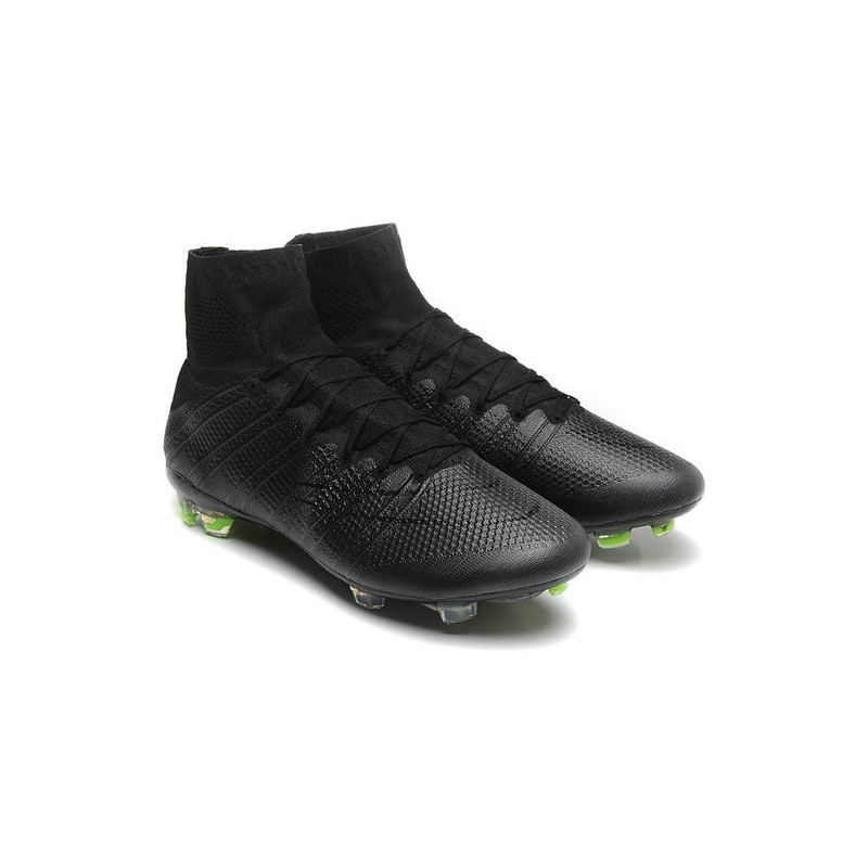Nike Mercurial Superfly 4 Fg Top Football Shoes All Black