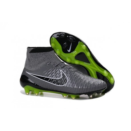 Nike New Magista Obra FG ACC Firm Ground Shoes Gray Black Volt