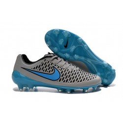 Nike Magista Opus FG Cheap Mens Soccer Cleats Grey Blue