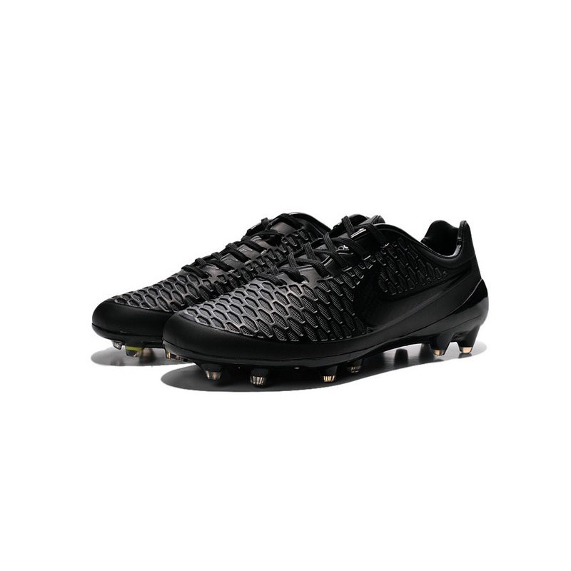 Nike Magista Opus FG Cheap Mens Soccer Cleats All Black