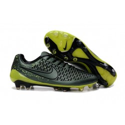 New Nike Magista Opus FG Firm Ground Football Boots Dark Citron Black Volt