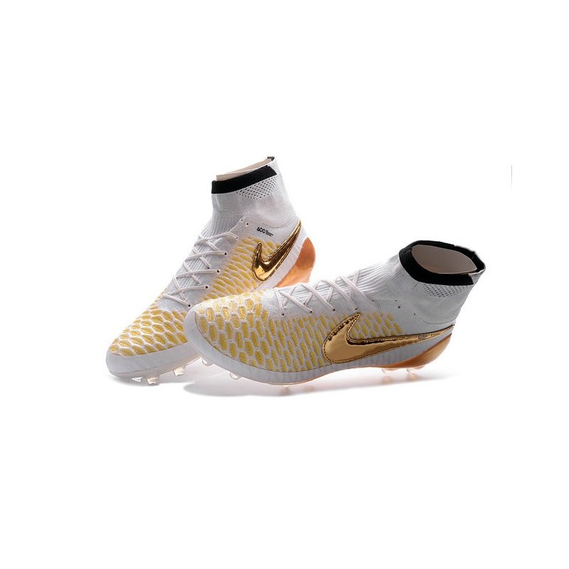 nike new magista obra fg acc firm ground shoes white gold