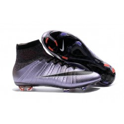 New Nike Mercurial Superfly Iv FG Cristiano Ronaldo Cleats Urban Lilac Bright Mango Black