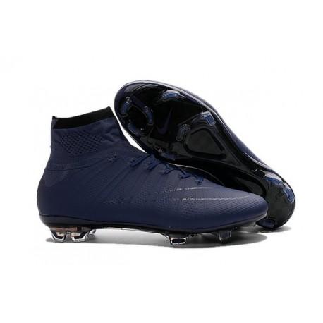 New Nike Mercurial Superfly Iv FG Cristiano Ronaldo Cleats Cyan Black