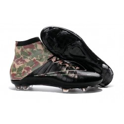 Nike 2016 Top Mercurial Superfly FG Soccer Boots Camouflage Black