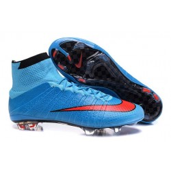 Nike 2016 Top Mercurial Superfly FG Soccer Boots Blue Red