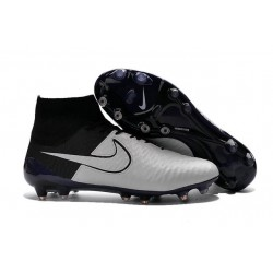 Soccer Cleats 2016 Mens Nike Magista Obra FG Leather White Black