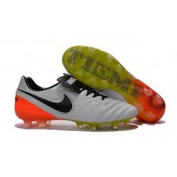 Mens Nike Tiempo Legend 6 FG ACC New Soccer Shoes White Orange Black