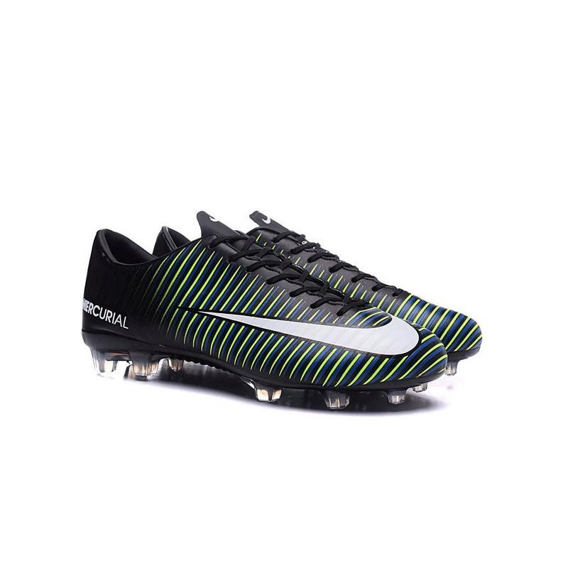 news nike mercurial vapor 11 fg football boots black white. Black Bedroom Furniture Sets. Home Design Ideas