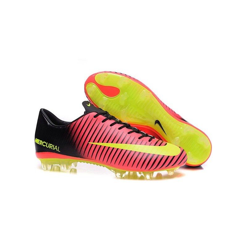 news nike mercurial vapor 11 fg football boots red yellow. Black Bedroom Furniture Sets. Home Design Ideas