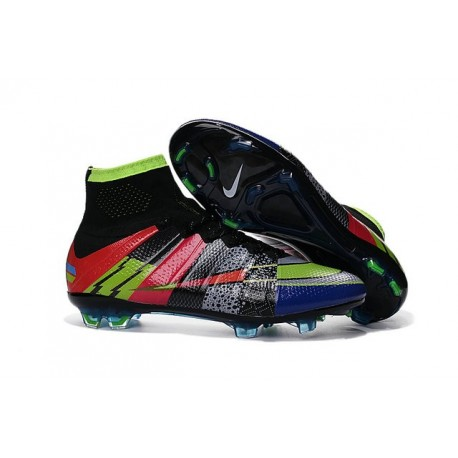 "News 2016 Nike Mercurial Superfly FG Firm Ground Football Cleats ""What the mercurial"""