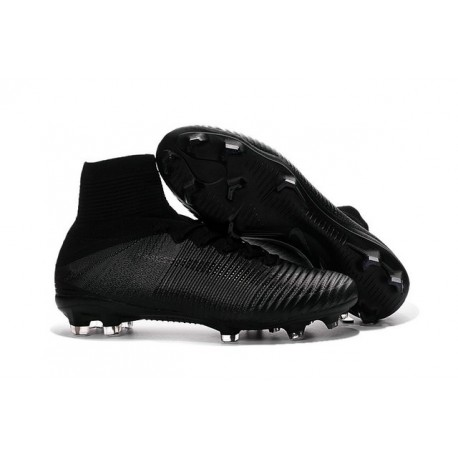 all black nike soccer cleats