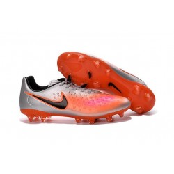 Nike Magista Opus II FG ACC News Soccer Cleat Silver Orange Black