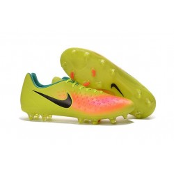 Nike Magista Opus II FG ACC News Soccer Cleat Volt Pink Black