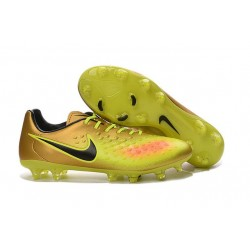 Nike Magista Opus II FG ACC News Soccer Cleat Golden Volt Black