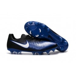 Nike Magista Opus II FG ACC News Soccer Cleat Blue Black White