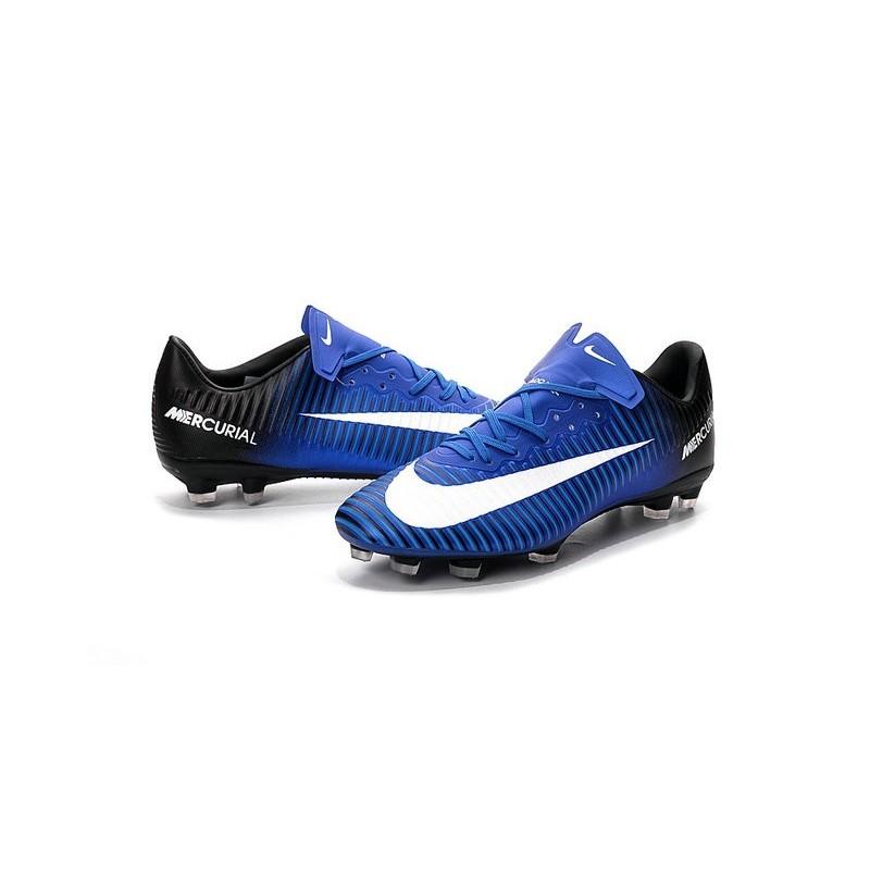 news nike mercurial vapor 11 fg football boots blue black. Black Bedroom Furniture Sets. Home Design Ideas