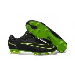 Nike Mercurial Vapor XI FG ACC New 2016 Soccer Cleats Black Green