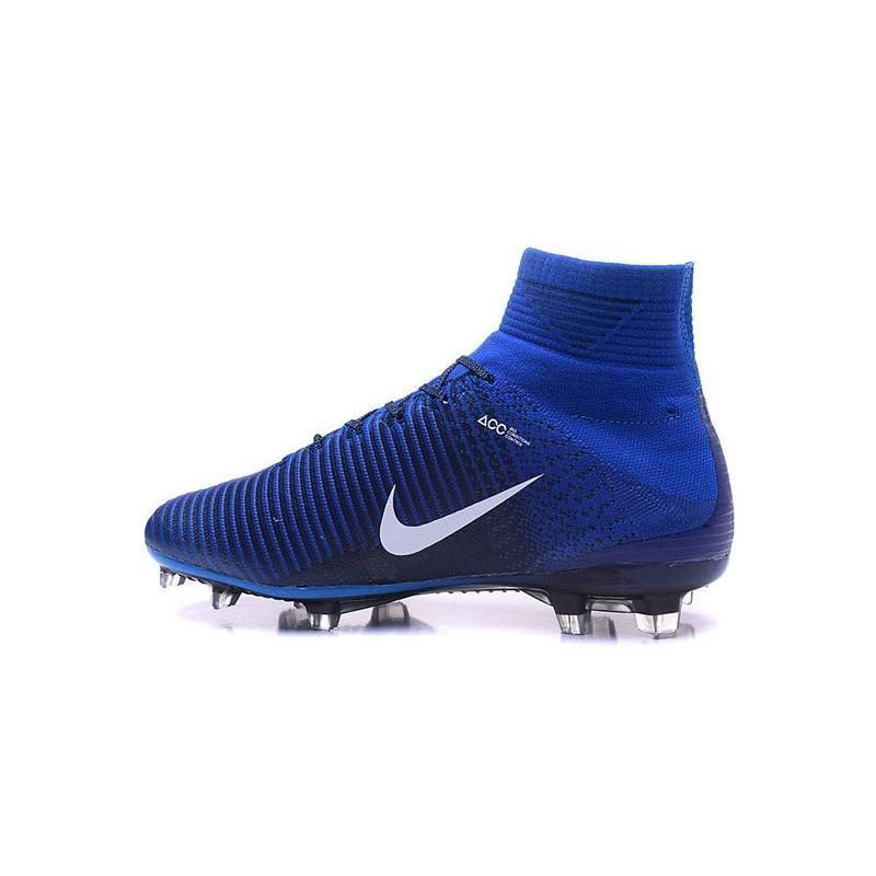 Royal Blue Soccer Shoes