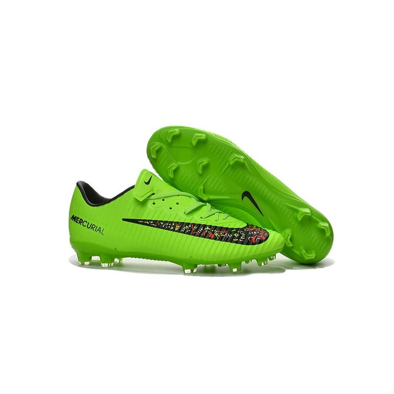 nike mercurial vapor xi fg acc new 2016 soccer cleats green black. Black Bedroom Furniture Sets. Home Design Ideas