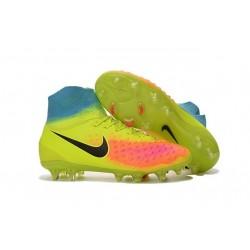 Nike Magista Obra II FG 2016 News Soccer Boots Volt Black Crimson