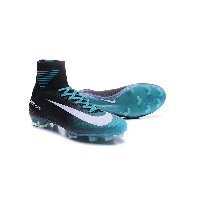 online store 48aba 2e79c Nike Mens Mercurial Superfly 5 ACC FG Football Boots Black ...