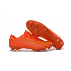 Nike Mercurial Vapor XI FG ACC New 2016 Soccer Cleats All Orange