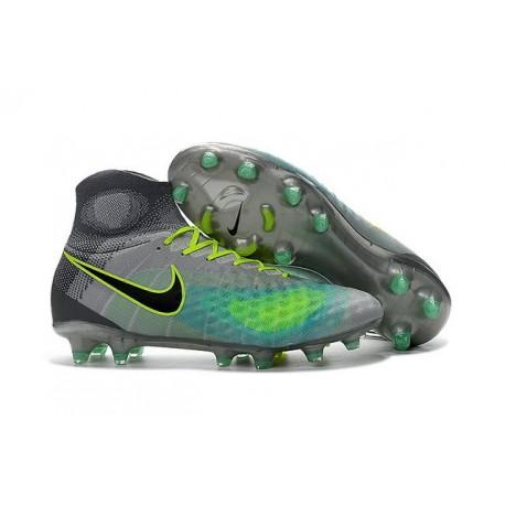 Nike Magista Obra II FG 2016 News Soccer Boots Grey Blue Black