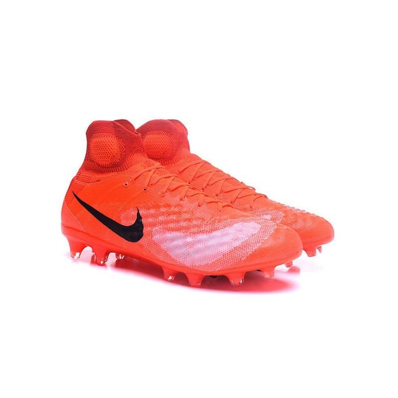 Nike Magista Obra II FG News Soccer Boots Orange Black