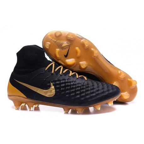 Nike Magista Obra II FG News Soccer Boots Black Gold