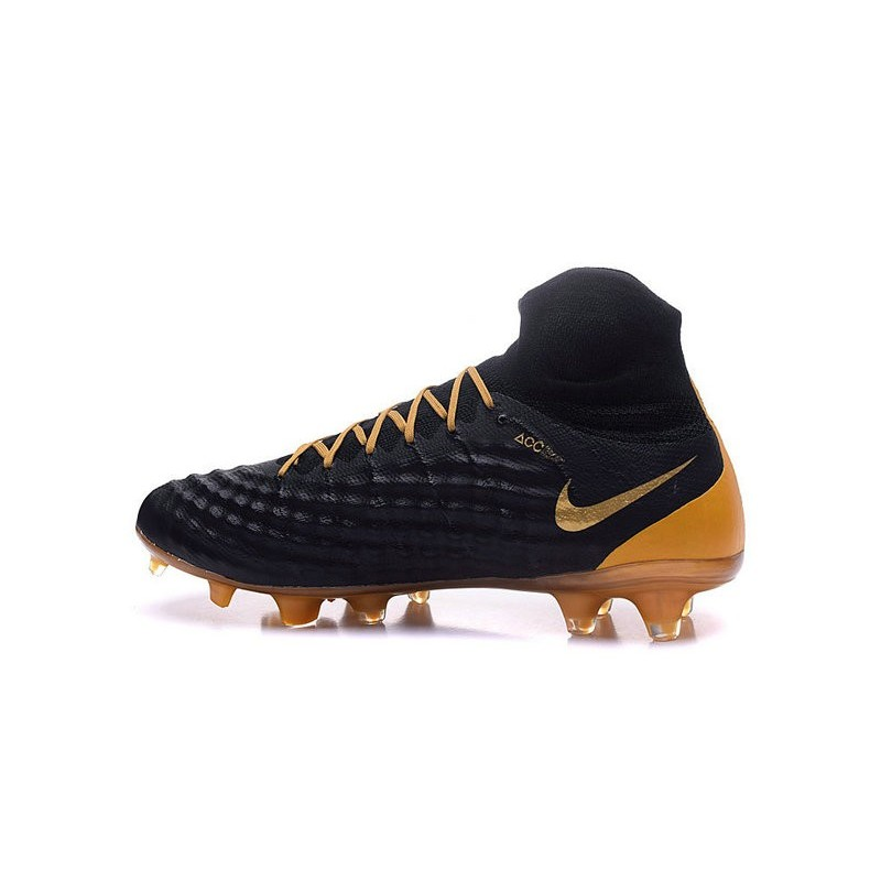 Nike Magista Obra II FG News Soccer Boots Black Gold