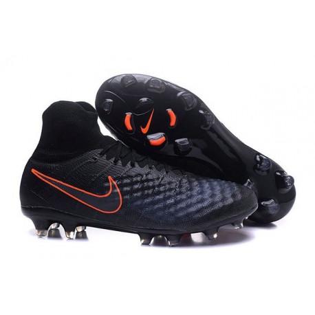 Nike Magista Obra II FG News Soccer Boots Black Orange