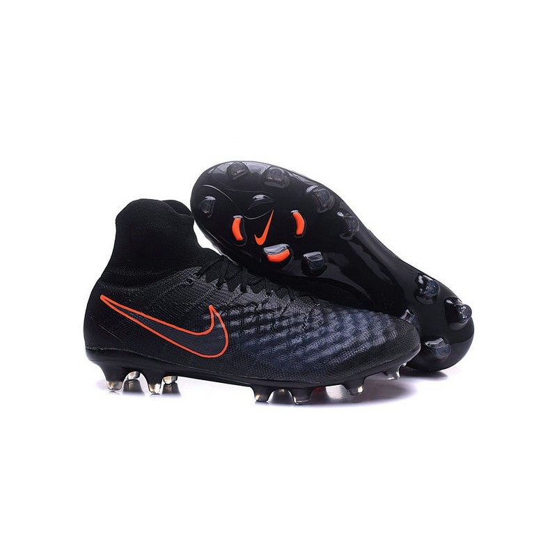 Nike Magista Obra II FG News Soccer Boots Black Orange