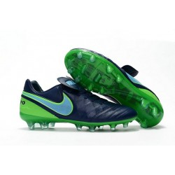 Mens Nike Tiempo Legend 6 FG ACC New Soccer Shoes Black Green
