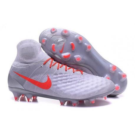 Nike Magista Obra II FG Mens Football Cleats White Orange